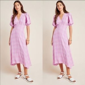 Anthropologie Faithfull Vittoria midi Dress